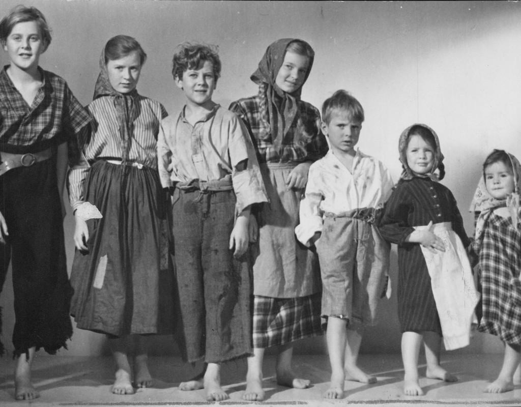Barnen från Frostmofjället, Rolf Husberg (1945)