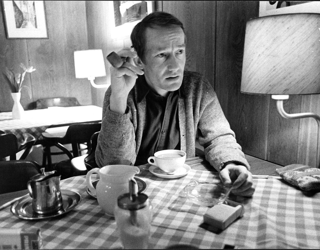 Gösta Ekman, skådespelare.
