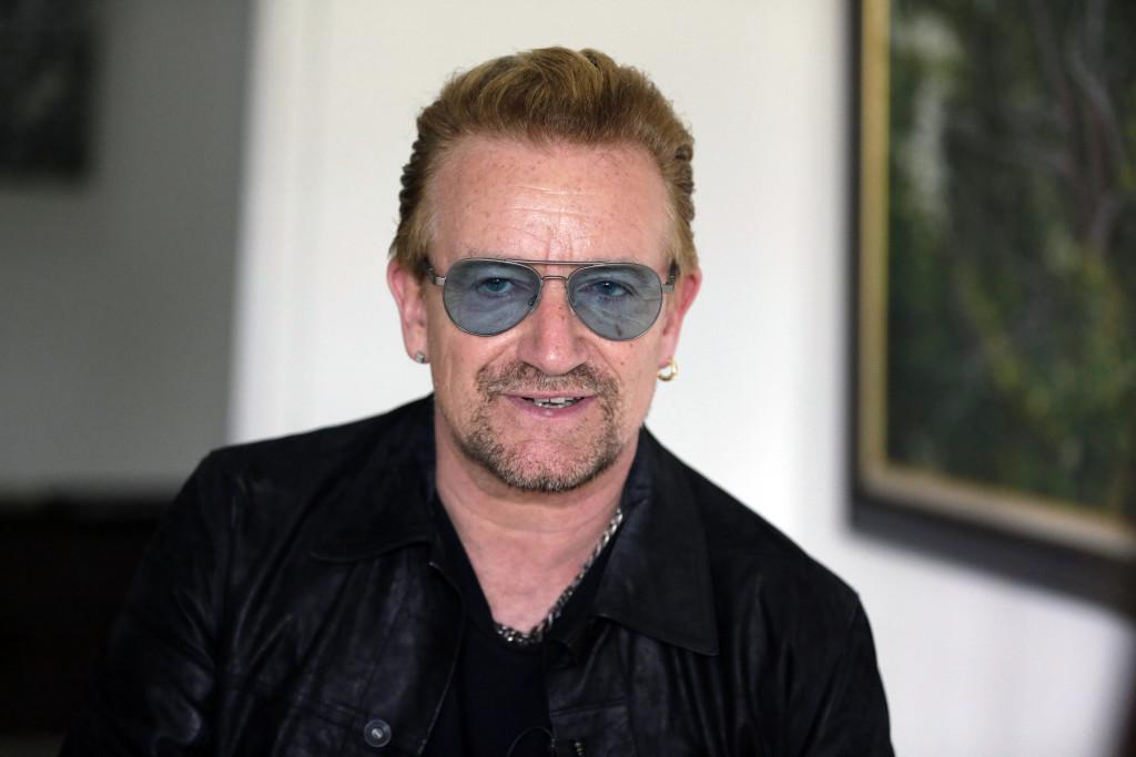 Bono, sångare, U2, 1960.