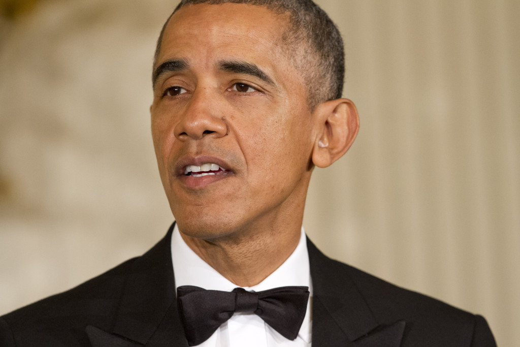 Barack Obama, president, 1961.