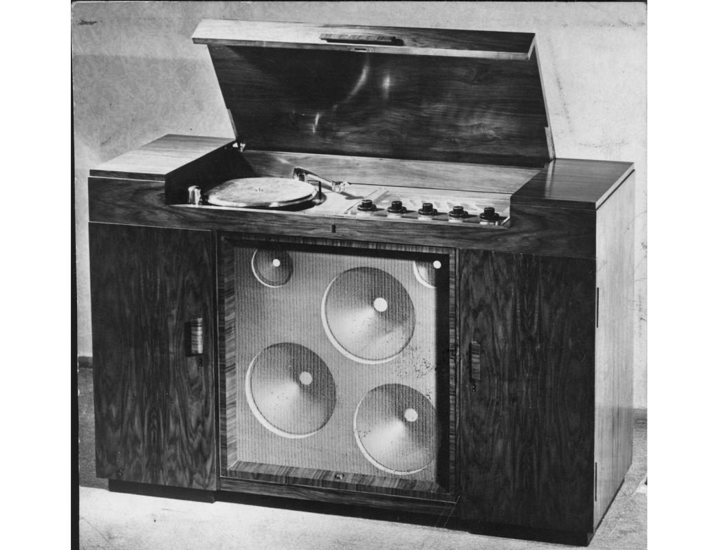 Radiogrammofon
