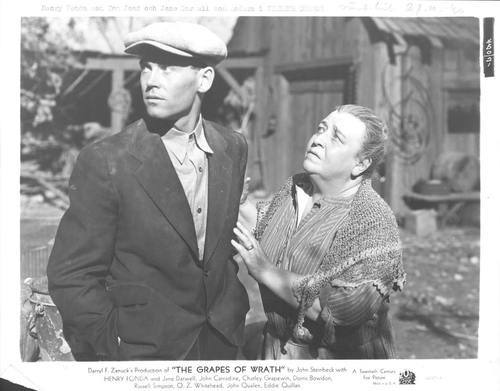 Vredens druvor, John Ford (1940)