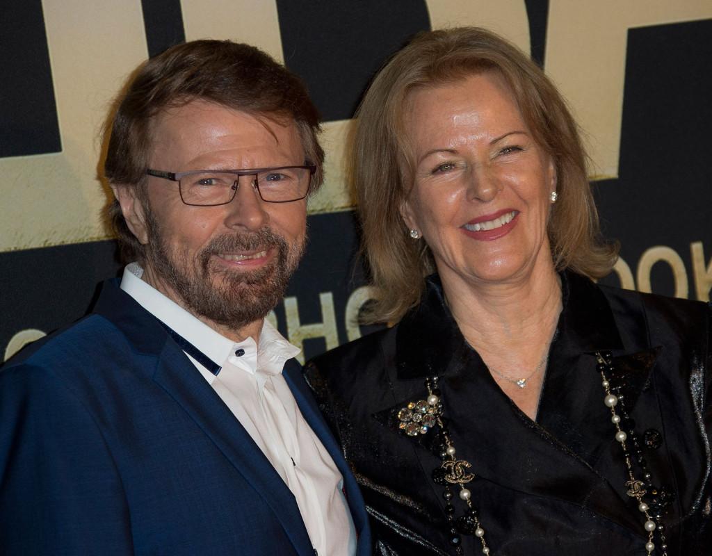 Björn Ulvaeus (1946) och Anni-Frid Lyngstad (1945) i Abba.
