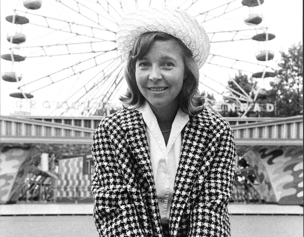 Alice Babs, artist, skådespelare.