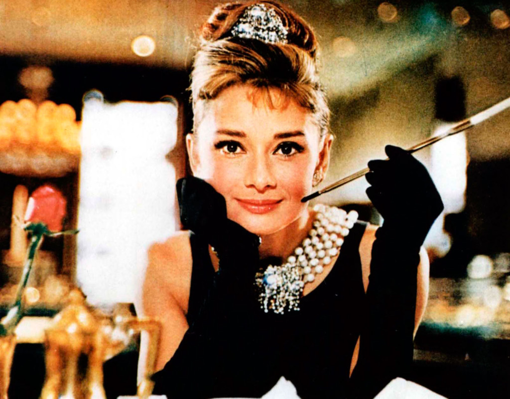 Audrey Hepburn, skådespelare.