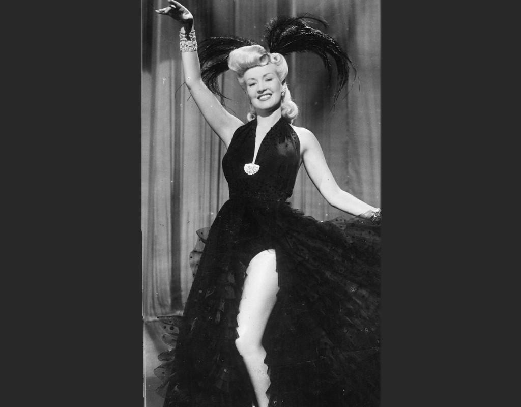 Betty Grable, skådespelerska.