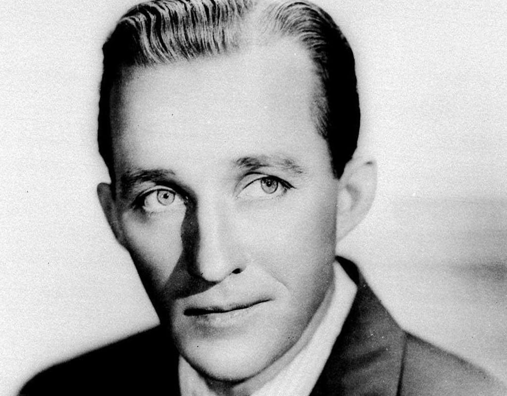 Bing Crosby, sångare och skådespelare.