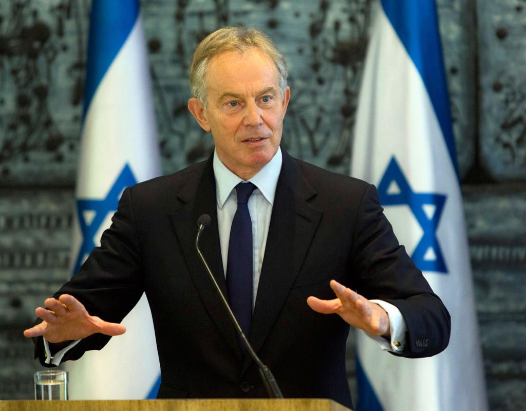 Tony Blair, fd premiärminister i Storbritannien, 1953.