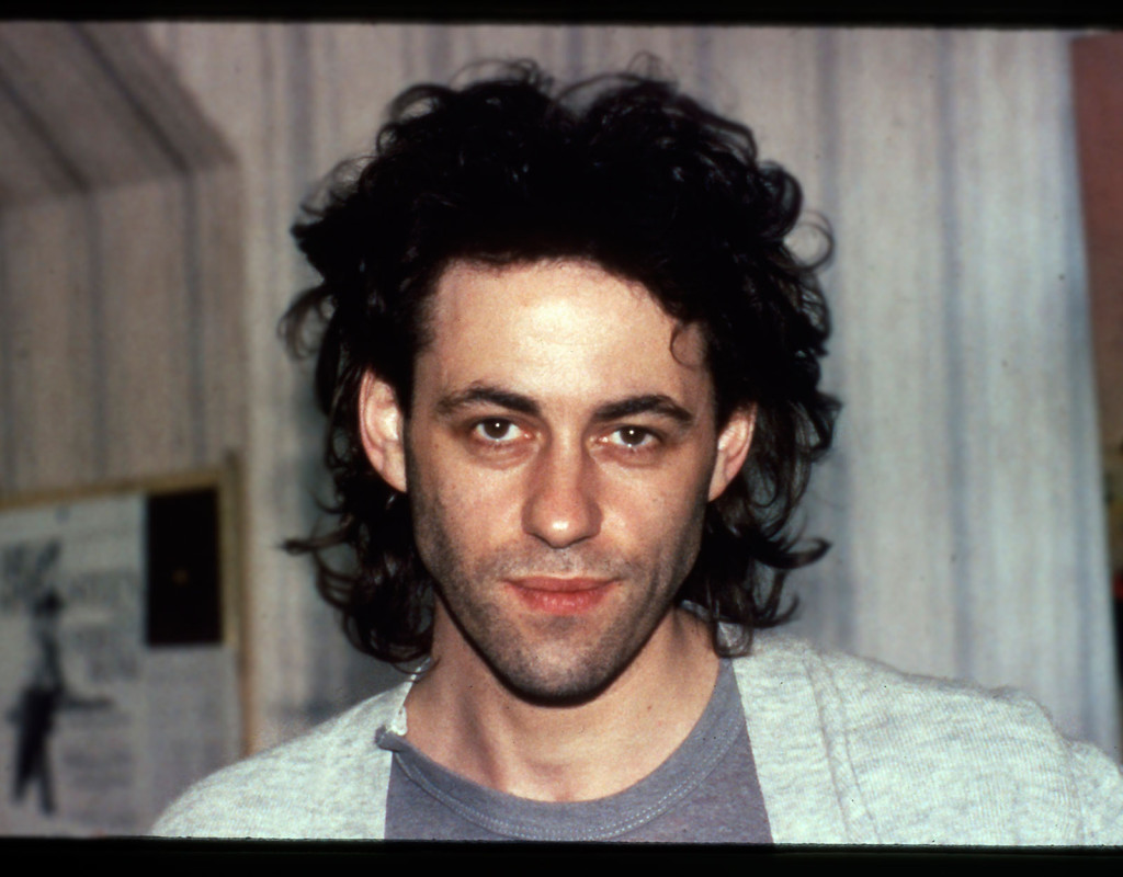Bob Geldof, sångare/välgörare.