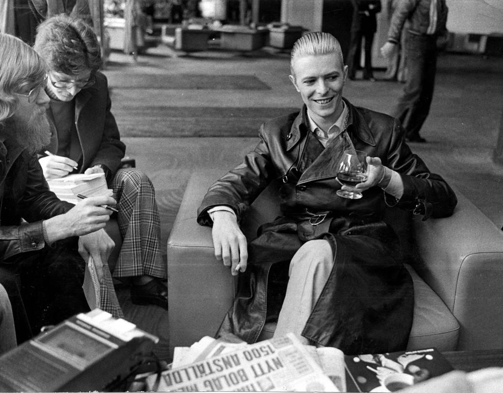 David Bowie, artist.
