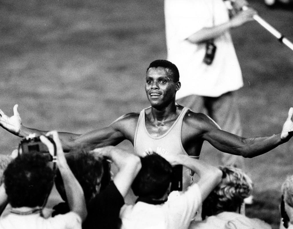 Carl Lewis, (1961), USA, friidrott. Fyra OS-guld 1984, två OS-guld 1988, två OS-guld 1992, ett OS-guld 1996. Åtta VM-guld. Tre gånger innehavare av världsrekordet på 100 meter.