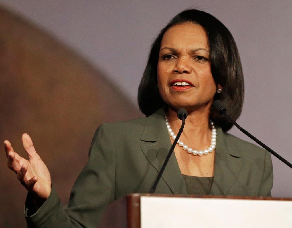 Condoleezza Rice, fd utrikesminister i USA, 1954.