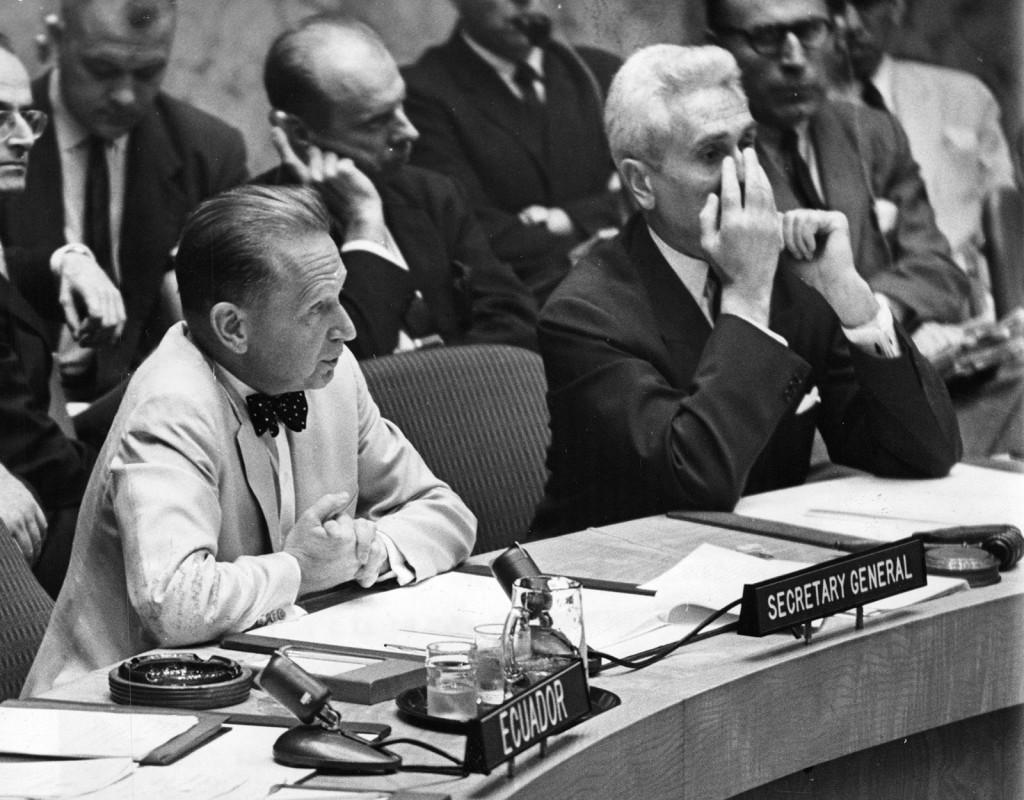 Dag Hammarskjöld var generalsekreterare i FN från 1953 till hans död 1961.
