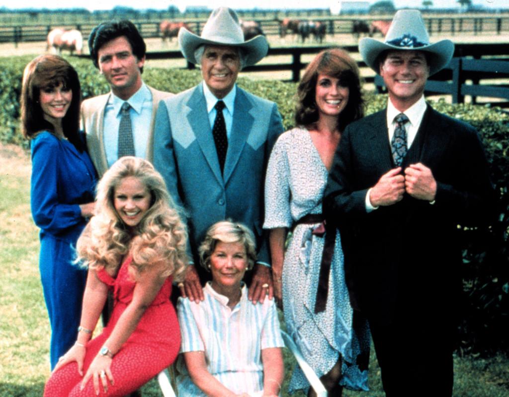 I april 1978 började Dallas visas i USA. När serien kom till Sverige i januari 1981 blev den omåttligt populär och var och varannan familj bänkade sig framför tv:n varje helg. Fotograf: AP