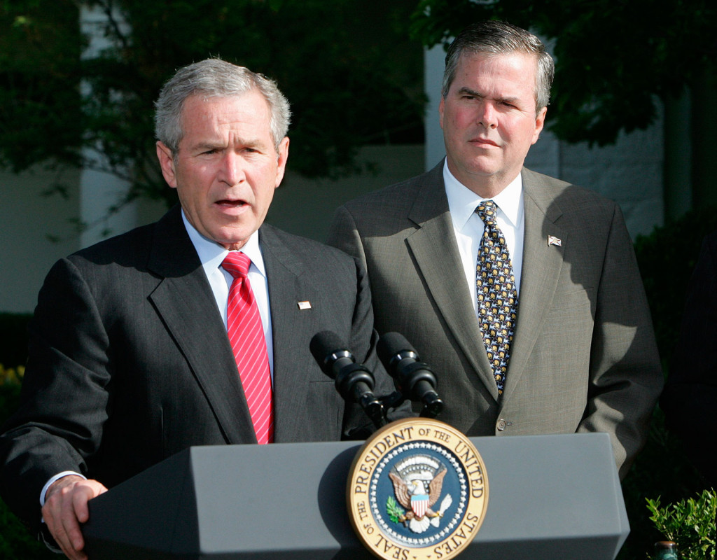 George W Bush, f d amerikansk president, 1946