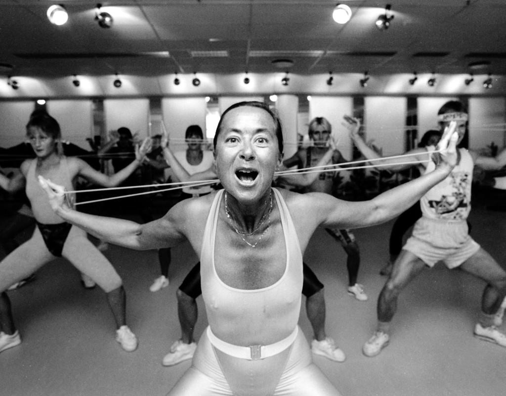 "Susanne Lanefelts tv-program Gymping blev en megasuccé – ""kniiip stjärten!"".  Foto: HANS-M KARLSSON"
