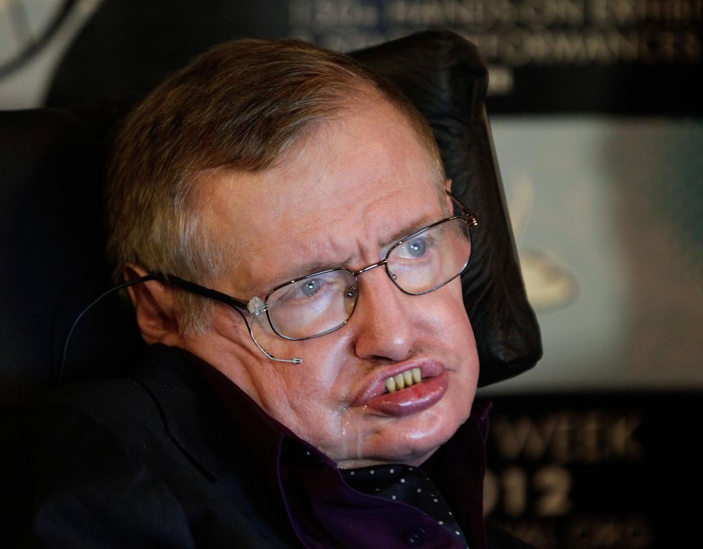 Stephen Hawking, fysiker och författare, 1942.