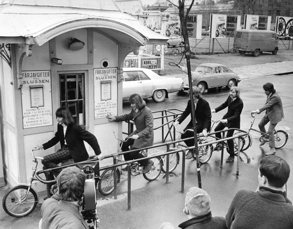 """Svenska """"The Hep Stars"""" gjorde succé i landet, efter att The Beatles slagit internationellt. Foto: WEINE LEXIUS"""