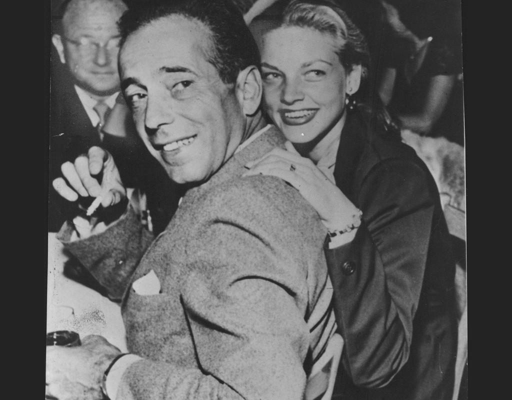Lauren Bacall och Humphrey Bogart var stilikoner.