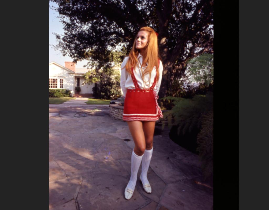 Minikjol, här på skådespelerskan Ann-Margret