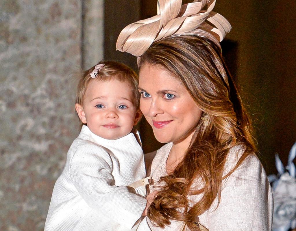 Prinsessan Madeleine, prinsessa, 1982. Här med prinsessan Leonore, 2014.