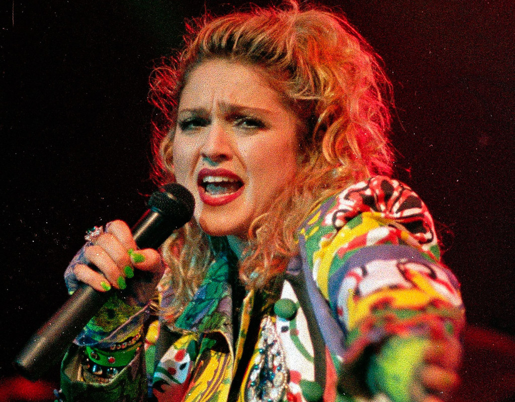 Madonna, sångare.