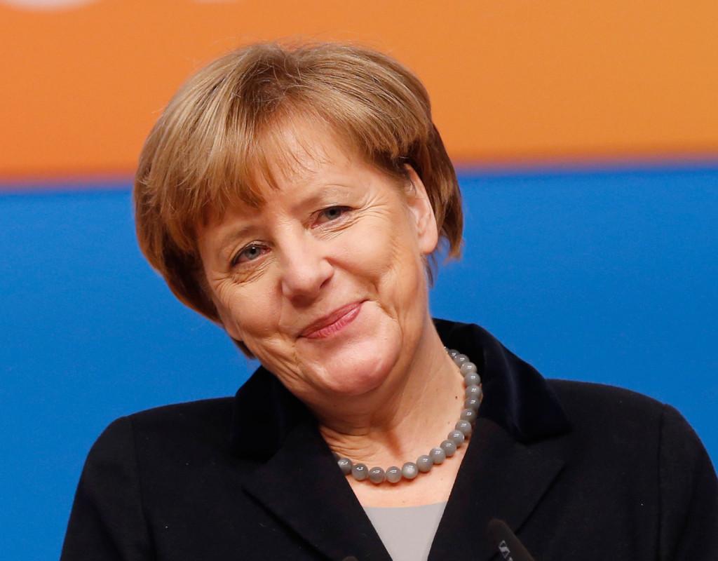Angela Merkel, Tysklands förbundskansler, 1954.