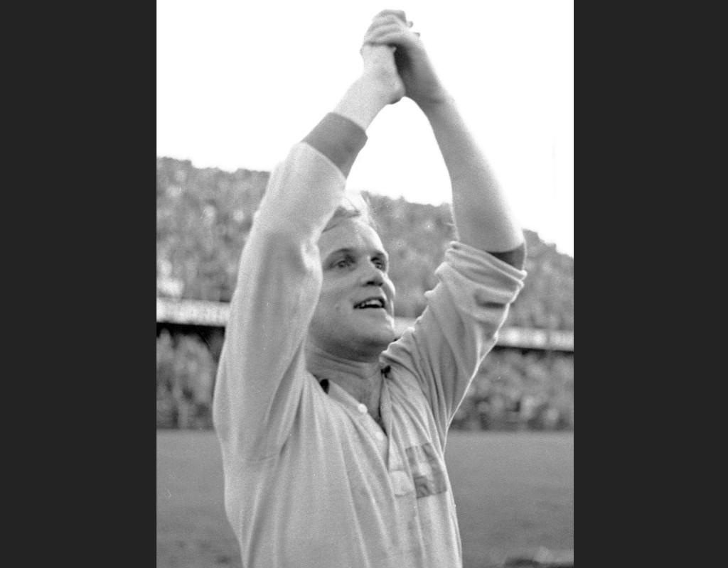 Lennart Nacka Skoglund, fotbollslegendar.