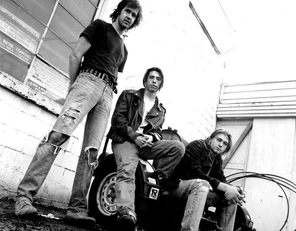 """""""Grunge"""" – flanellskjortor, trasiga jeans och lager på lager."""