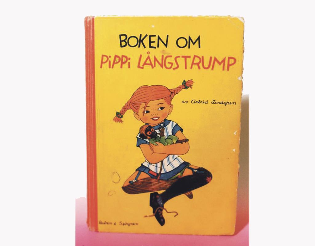 Den första boken om Pippi Långstrump av Astrid Lindgren kom ut 1945. Foto: RABÉN & SJÖGREN