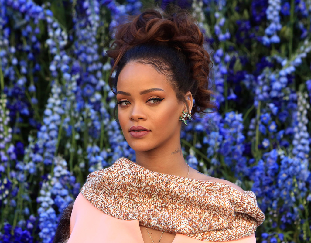 Rihanna, artist, 1988.