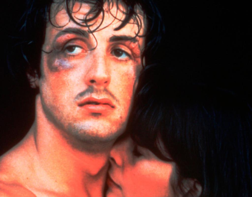 """Filmen """"ROCKY"""" med Sylvester Stallone, blev en jättehit 1976. Budskap: alla människor får sin chans, bara de vill och lever upp till sin dröm. Fotograf: AP"""