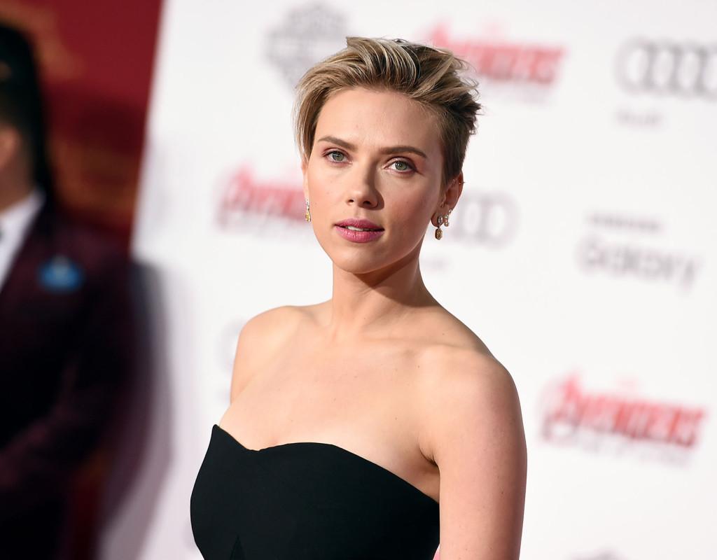 Scarlett Johansson, skådespelare, 1984.