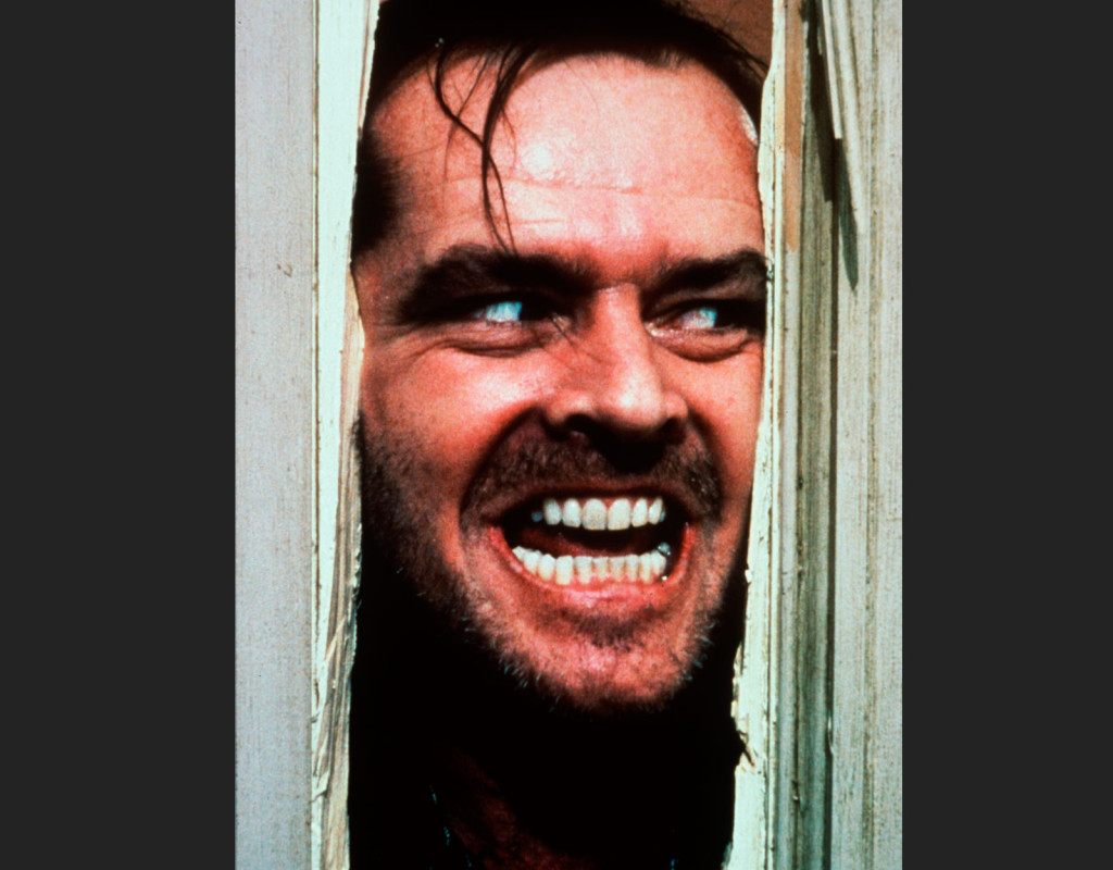 """Skräckfilmen """"The Shining"""" med Jack Nicholson blev en riktig kassasuccé när den visades på bio, 1980.  Foto: AFTONBLADET ARKIV"""