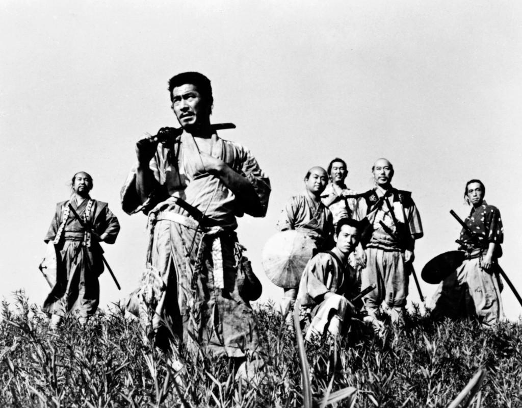 De sju samurajerna, Akira Kurosawa (1954)