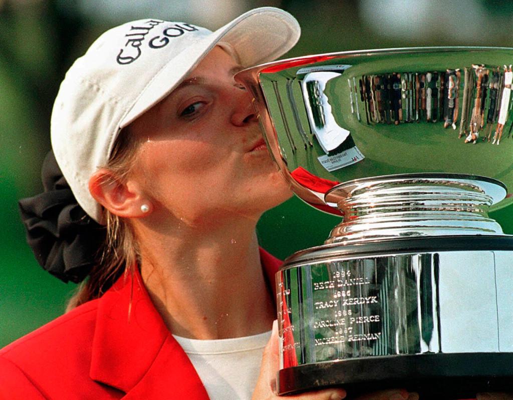 Annika Sörenstam, (1970), golf. Åtta Majorsegrar. Jerringpriset 2003. 72 segrar på LPGA-touren.