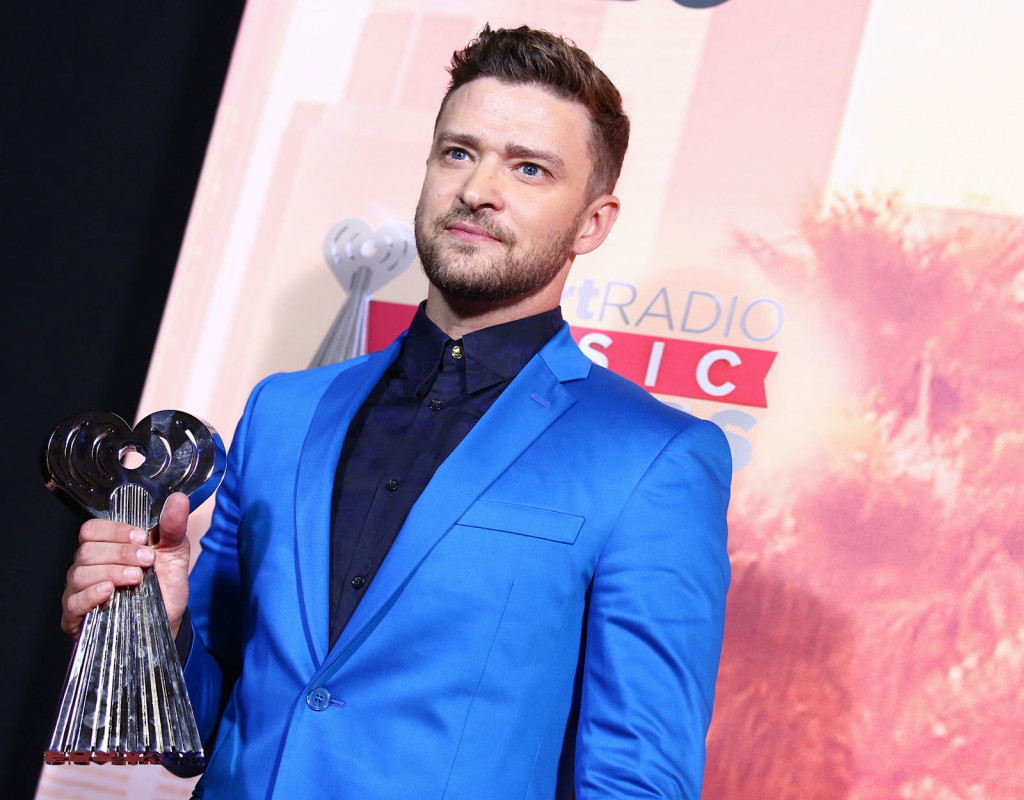 Justin Timberlake, sångare, 1981.