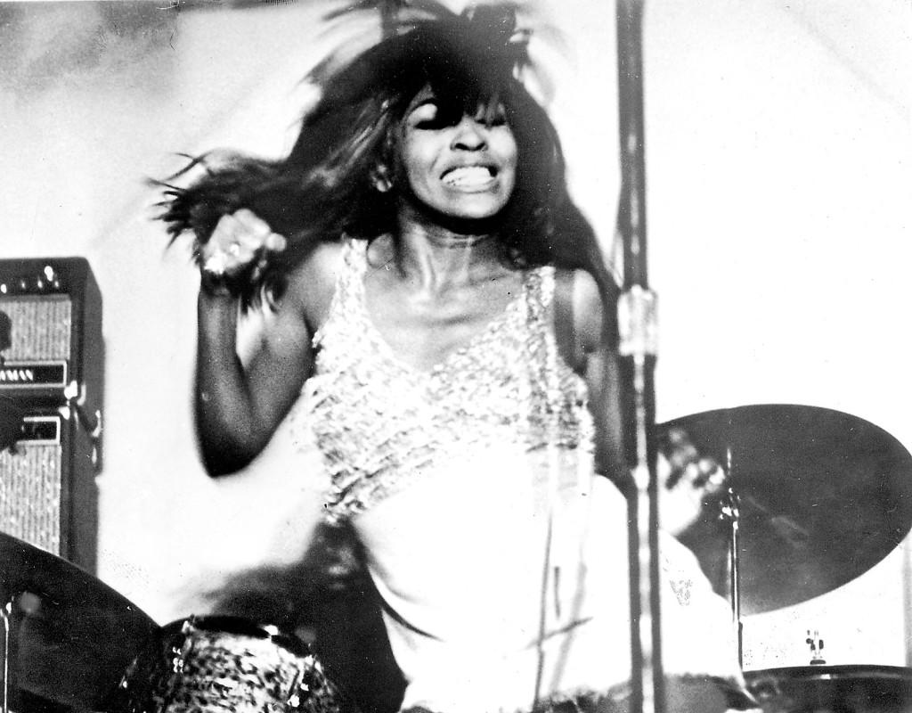 Tina Turner, sångerska.