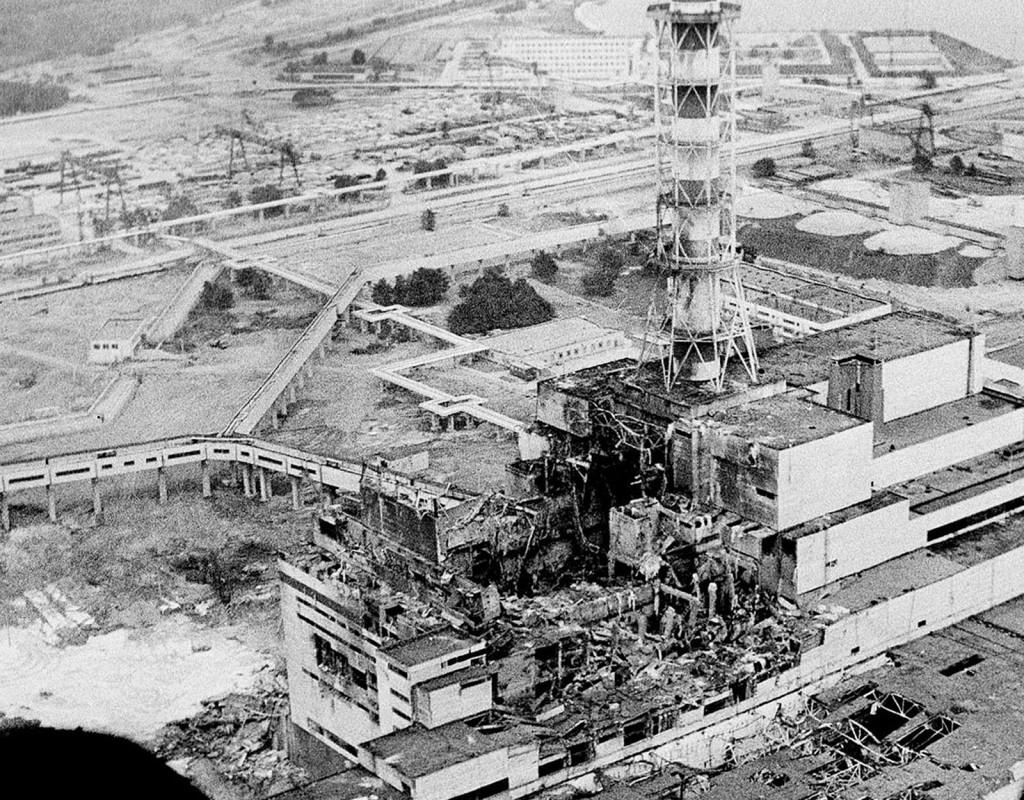 Den 26 april 1986 inträffar en allvarlig reaktorolycka i kärnkraftverket i Tjernobyl norr om Kiev, i dåvarande Sovjetunionen. Ett moln med radioaktiva partiklar sprids över stora delar av Europa. Foto: SCANPIX SWEDEN
