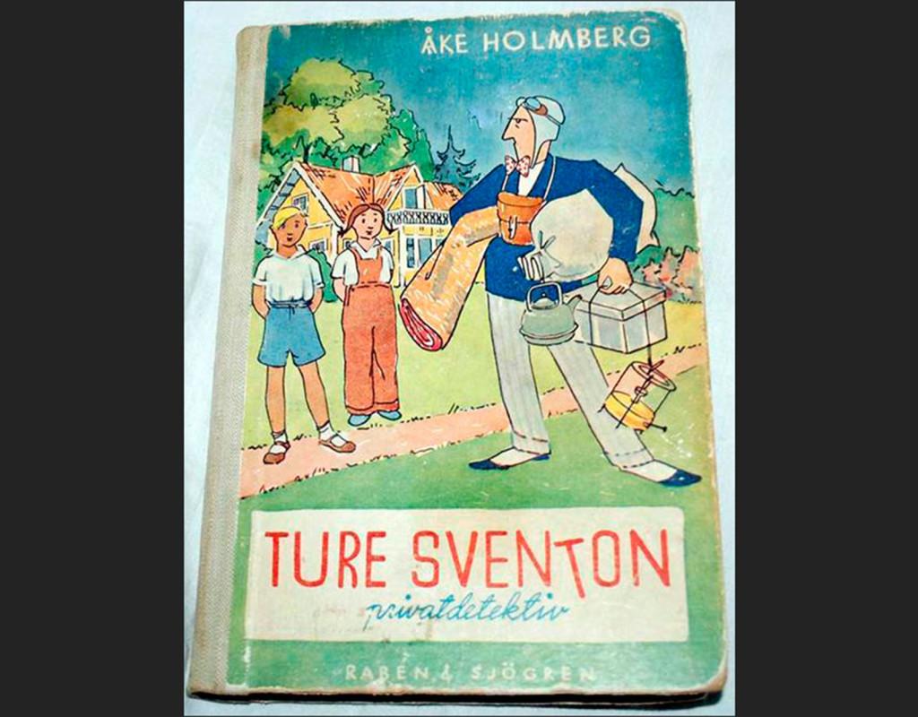 Ture Sventon, privatdetektiv, Åke Holmberg (1948)