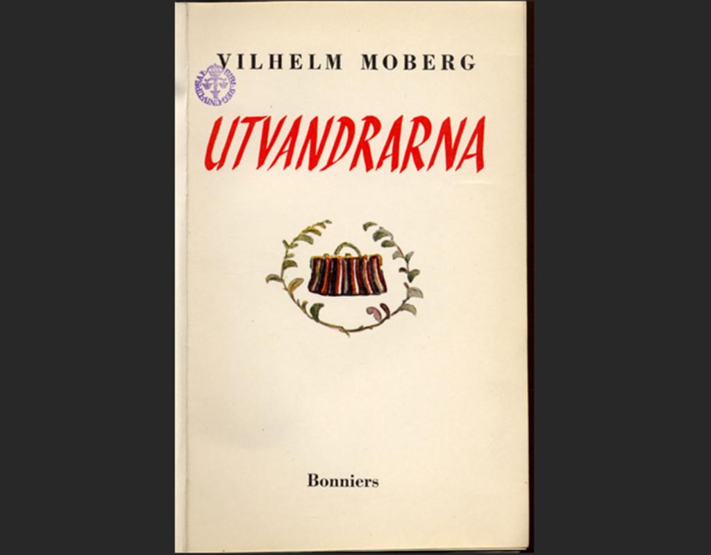 Utvandrarna, Vilhelm Moberg (1949)